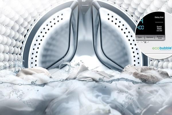 فناوری اکو بابل ecobubble در ماشین لباسشویی چیست؟