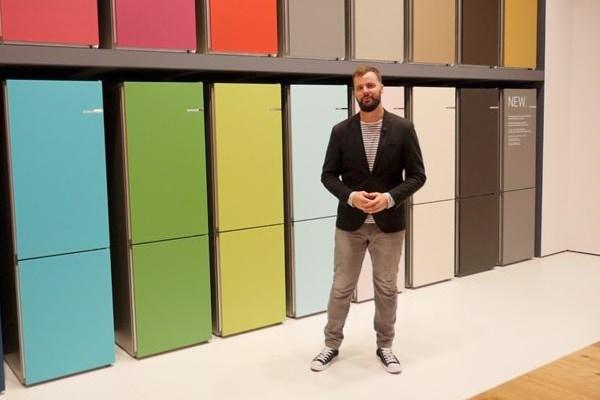 از ظاهر یخچال خود خسته شده اید؟یخچال جدید بوش واریو با درب های رنگی و قابل تعویض در IFA2017 رونمایی شد
