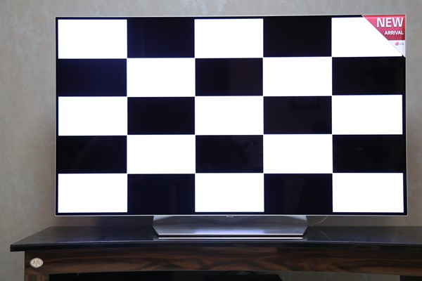 تست فنی تلویزیون OLED B7 ال جی