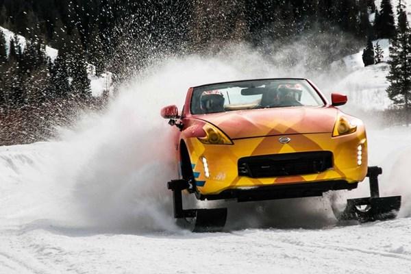 رونمایی از خودروی برف روی هیجان انگیز   NISSAN 370ZKI