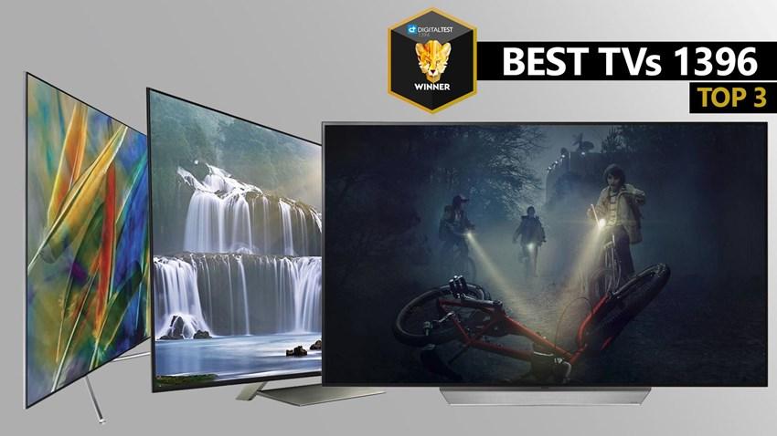بهترین تلویزیون های 1396
