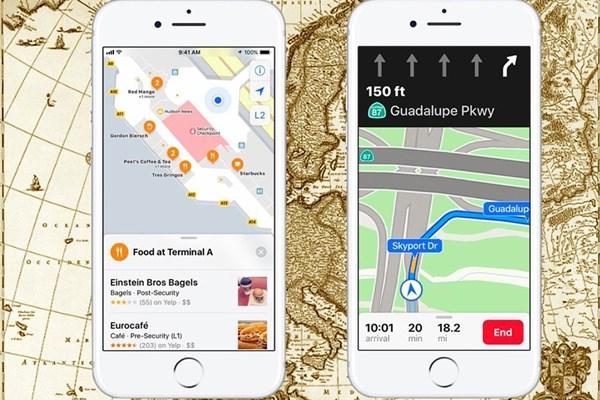بررسی اپلیکیشن های مسیر یاب