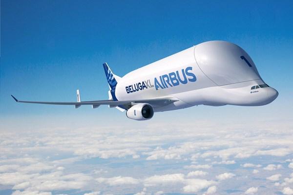 اولین پرواز هواپیمای ترابری جدید ایرباس Beluga XL در تابستان