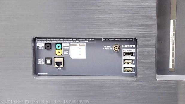 تست فنی تلویزیون OLED C8 ال جی